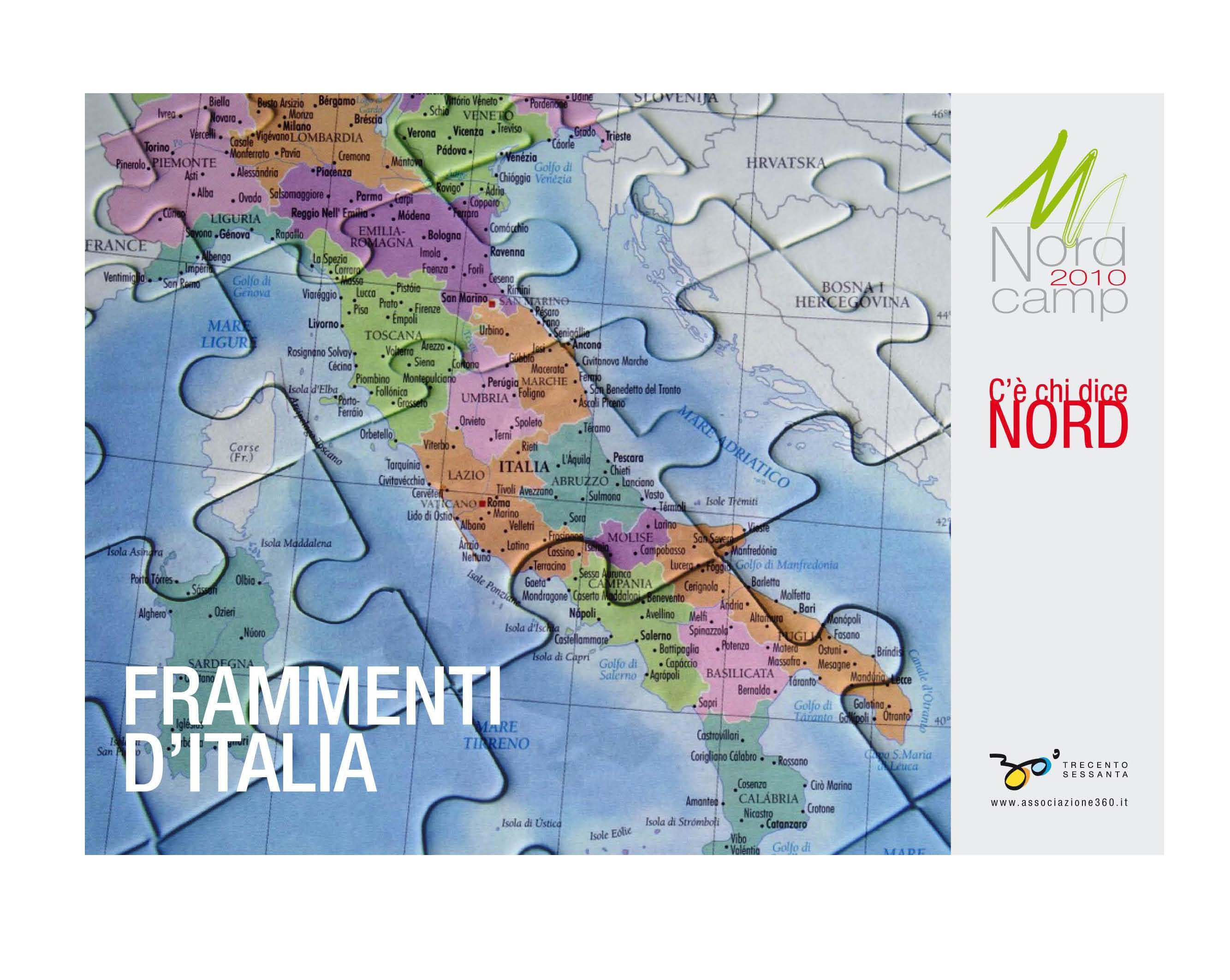 FRAMMENTI D'ITALIA: Dossier sulle Entrate e sulle Spese delle Regioni Italiane.