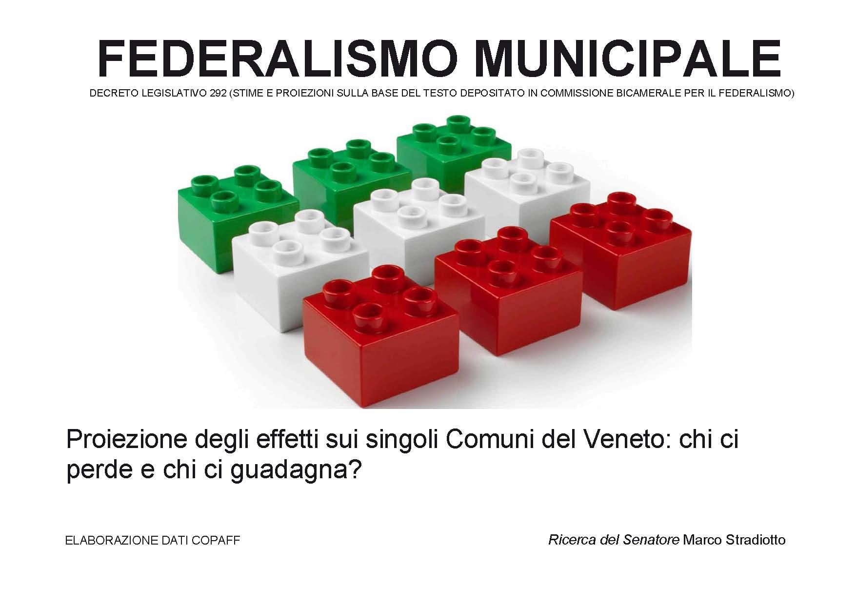Federalismo immobiliare: Veneto spezzato