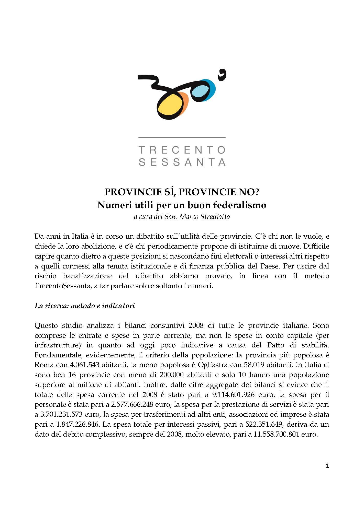 Federalismo: Per finanziare le Provincie l'auto ci costerà di più!