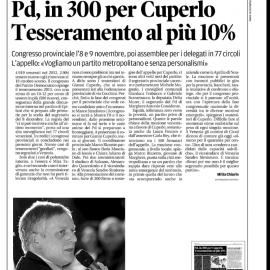 Rassegna stampa 03/11/2013