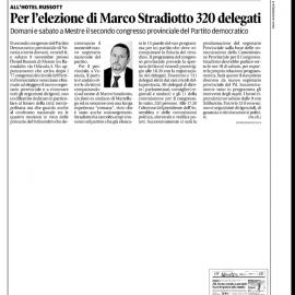 Rassegna stampa 07/11/2013